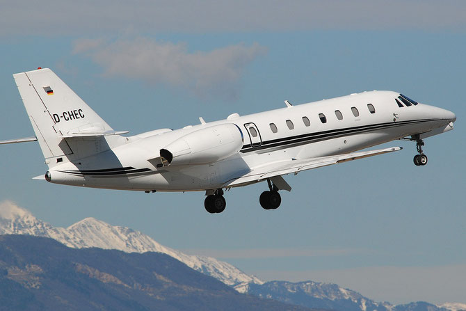 D-CHEC Ce680 680-0079 @ Aeroporto di Verona © Piti Spotter Club Verona