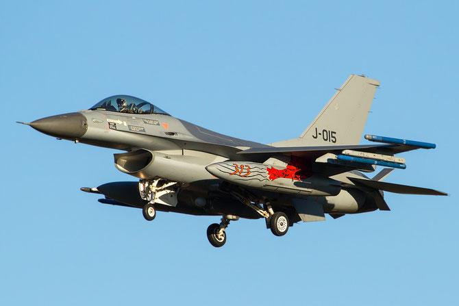 J-015  F-16AM 6D-171 312/313sq