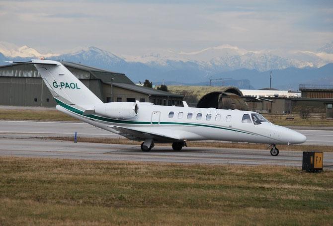 G-PAOL Ce525B 525B-0232 Blu Halkin Ltd. @ Aeroporto di Verona © Piti Spotter Club Verona