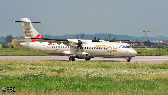 HB-ACC ATR72-212A 664 Darwin Airline 13may14 opf Etihad Regional