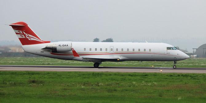4L-GAA CL-850 8046 Georgian Airways