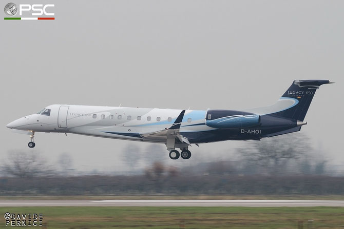 D-AHOI ERJ135BJ 14501171 Air Hamburg Private Jets @ Aeroporto di Verona © Piti Spotter Club Verona