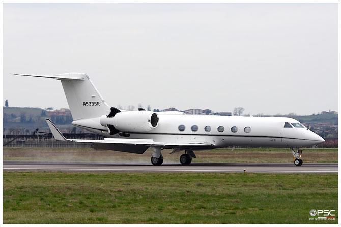 N533SR G450 4253 G450 Acquisitions LLC @ Aeroporto di Verona © Piti Spotter Club Verona