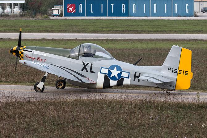 I-5151 - Loehle Mustang 5151  @ Aeroporto Verona Boscomantico © Piti Spotter Club Verona