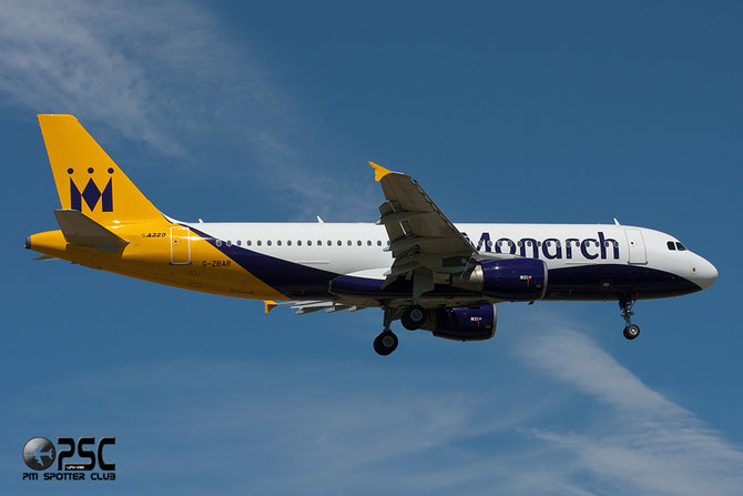 G-ZBAR A320-214 2142 Monarch Airlines