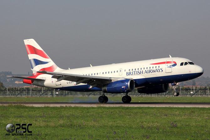 Airbus A319 - MSN 1380 - G-EUPT @ Aeroporto di Verona © Piti Spotter Club Verona