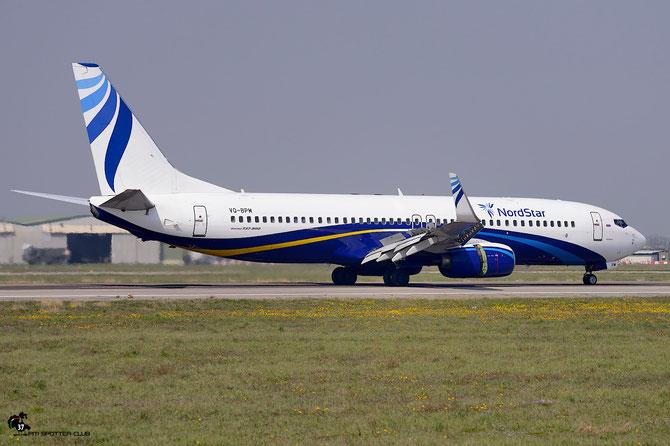 VQ-BPM B737-8AS 33812/1615 NordStar Airlines @ Aeroporto di Verona © Piti Spotter Club Verona