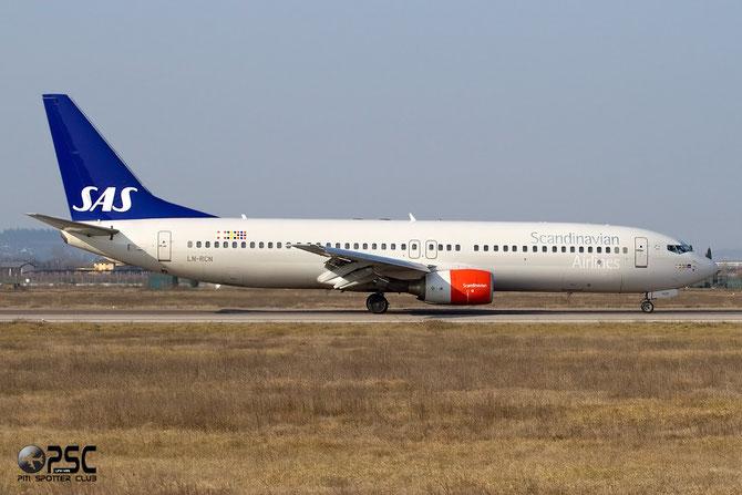 LN-RCN B737-883 28318/529 SAS Scandinavian Airlines - Scandinavian Airlines System