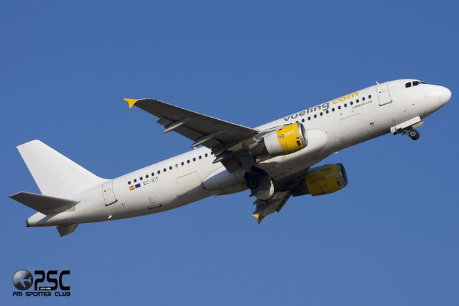 Airbus A320 - MSN 264 - EC-ICT @ Aeroporto di Verona © Piti Spotter Club Verona