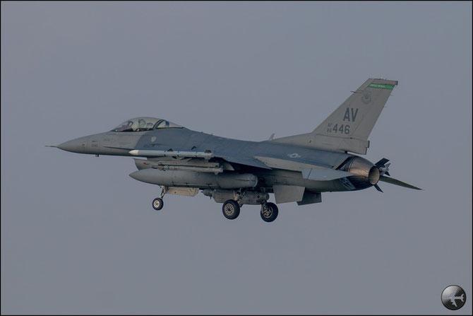 USAF - 88-0446 AV F-16CM-40-CF 1C-48 555th FS © Marco Sangrigoli - Piti Spotter Club Verona