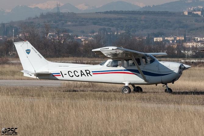 I-CCAR - Cessna 172 Skyhawk - @ Aeroporto Verona Boscomantico © Piti Spotter Club Verona