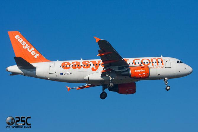 Airbus A319 - MSN 2827 - G-EZAY  @ Aeroporto di Verona © Piti Spotter Club Verona