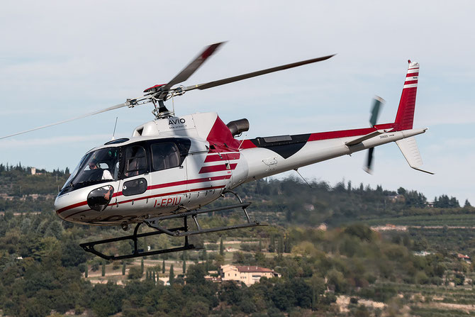 I-EPIU - Eurocopter AS-350B-3 Ecureuil @ Aeroporto Verona Boscomantico © Piti Spotter Club Verona