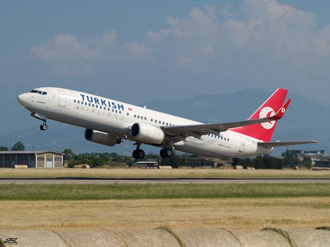 TC-JGL B737-8F2 34410/1927 THY Turkish Airlines - Türk Hava Yollari @ Aeroporto di Verona © Piti Spotter Club Verona