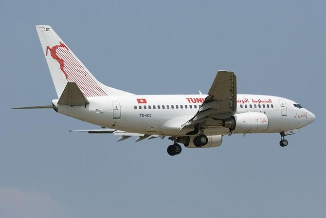 TS-IOK B737-6H3 29496/268 Tunis Air @ Aeroporto di Verona © Piti Spotter Club Verona