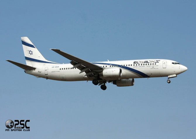4X-EKB B737-858 29958/249 El Al Israel Airlines