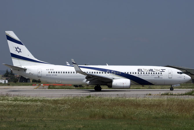 4X-EKI B737-86N 28587/192 El Al Israel Airlines
