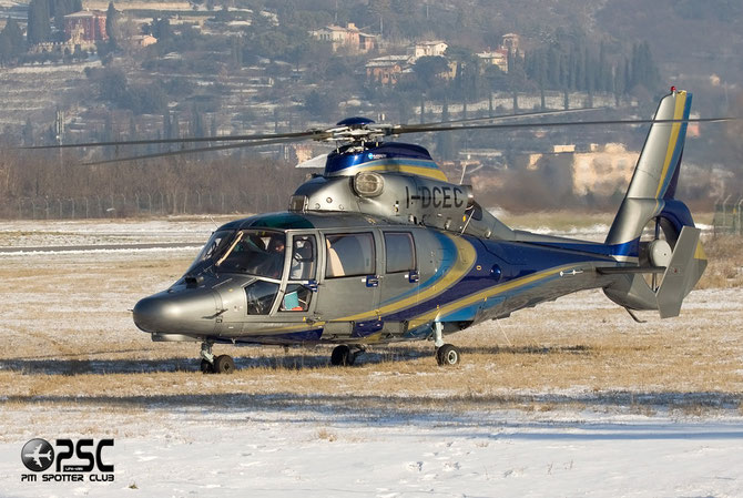 I-DCEC  Eurocopter AS365N3 Dauphin 2 ( c/n 6836 ) - mfg: 2009