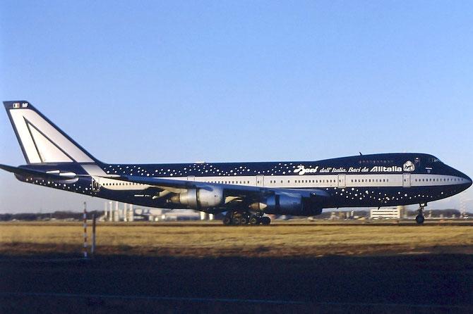 I-DEMF B747-243B 22508/499 Alitalia