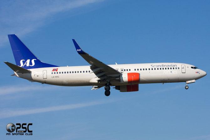LN-RRG B737-883 35708/2653 SAS Scandinavian Airlines - Scandinavian Airlines System
