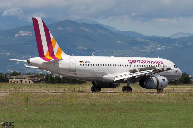 D-AGWQ A319-132 4256 Germanwings