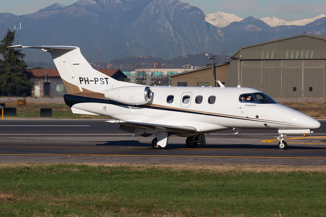 Private - Embraer 500 Phenom 100 - PH-PST @ Aeroporto di Verona © Piti Spotter Club Verona