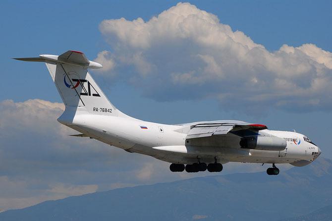 RA-76842 Ilyushin Il-76TD IL76 1043418616 9104 Aviacon Zitotrans @ Aeroporto di Verona © Piti Spotter Club Verona