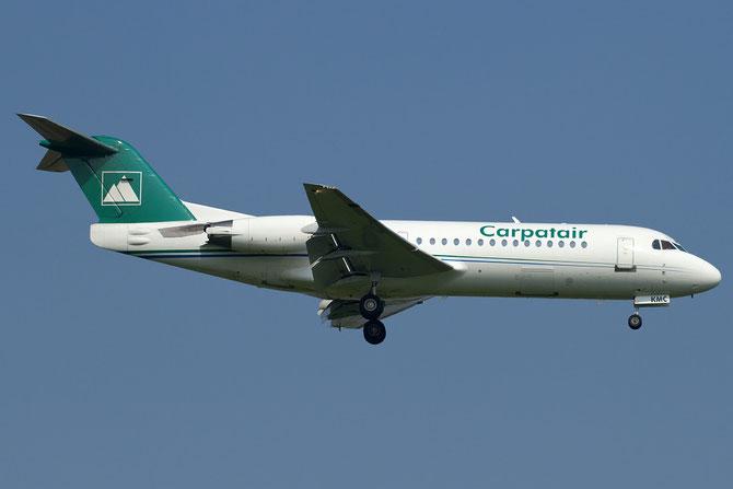 YR-KMC Fokker 70 11569 Carpatair