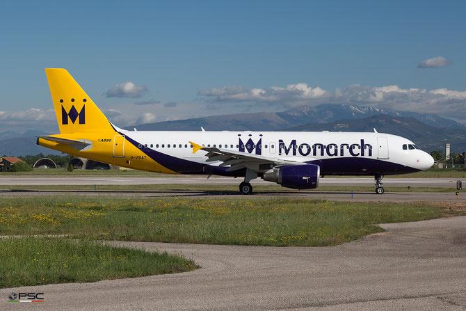 G-ZBAT A320-214 3278 Monarch Airlines @ Aeroporto di Verona - 2016 © Piti Spotter Club Verona