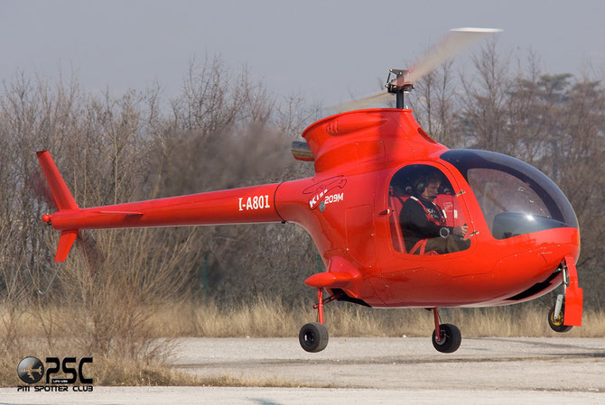 I-A801 - Airline: Private Aircraft: Fama Elicopter-Kiss 209M