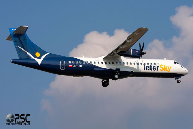 OE-LID ATR72-212A 1042 Intersky Luftfahrt