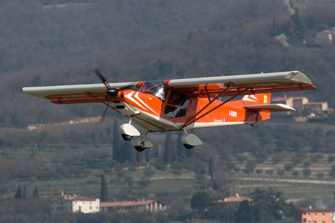 I-C019 - ICP MXP-740 Savannah S  @ Aeroporto Verona Boscomantico © Piti Spotter Club Verona