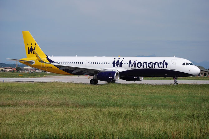 G-ZBAM A321-231 6059 Monarch Airlines