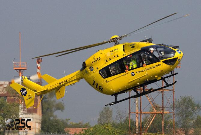 I-EITF Eurocopter Deutschland MBB BK-117C1 (EC-145) EC45 9082   Elilario Italia