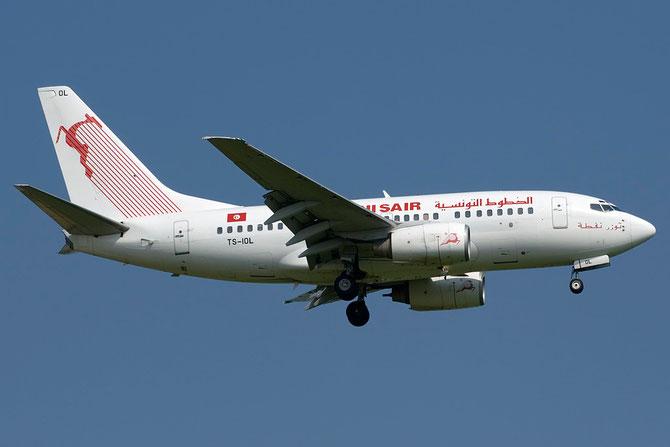TS-IOL B737-6H3 29497/282 Tunis Air @ Aeroporto di Verona © Piti Spotter Club Verona