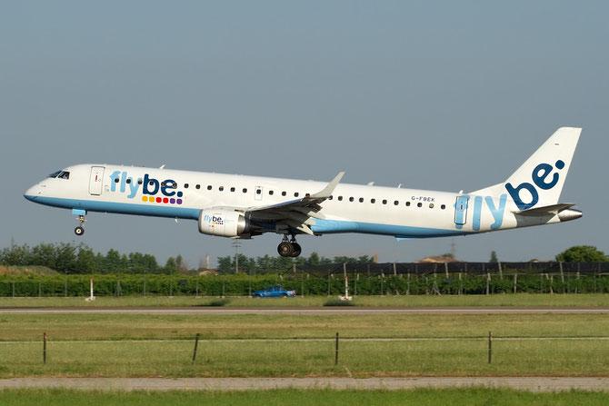 Embraer 190/195 - MSN 168 - G-FBEK  @ Aeroporto di Verona © Piti Spotter Club Verona