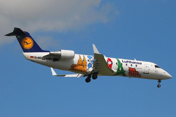 Canadair Regional Jet - MSN 7266 - D-ACJH @ Aeroporto di Verona © Piti Spotter Club Verona