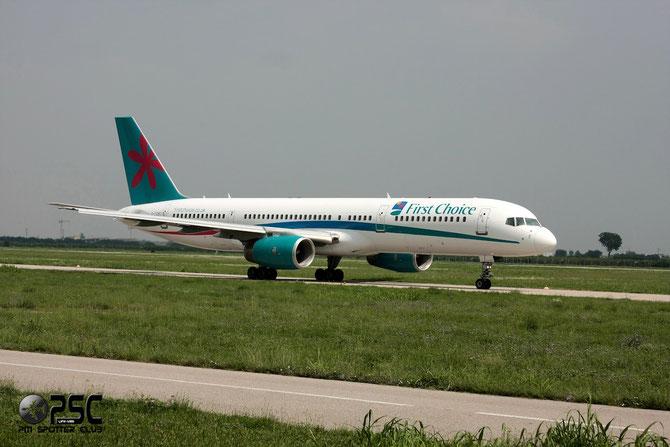 Boeing 757 - MSN 33098 - G-OOBC @ Aeroporto di Verona © Piti Spotter Club Verona