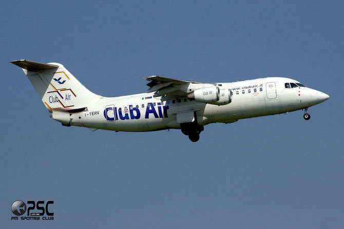 I-TERV BAe146-200A E2014 Club Air (Italy)