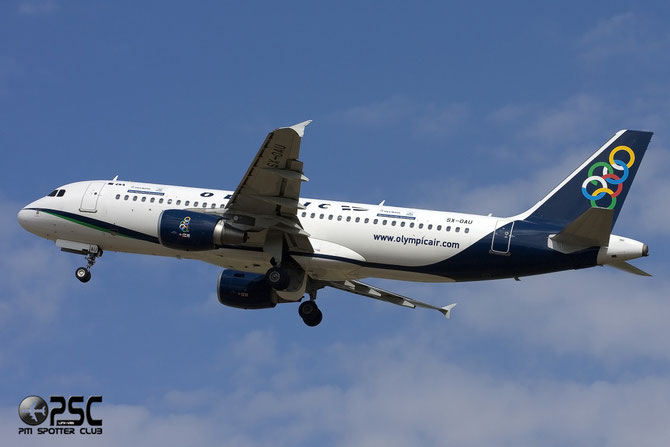 SX-OAU A320-214 4193 Olympic Air