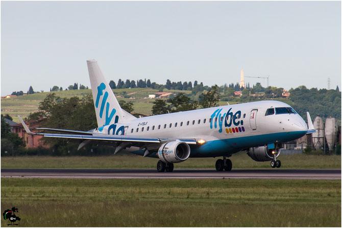 G-FBJI ERJ175STD 17000355 Flybe - British European @ Aeroporto di Verona © Piti Spotter Club Verona