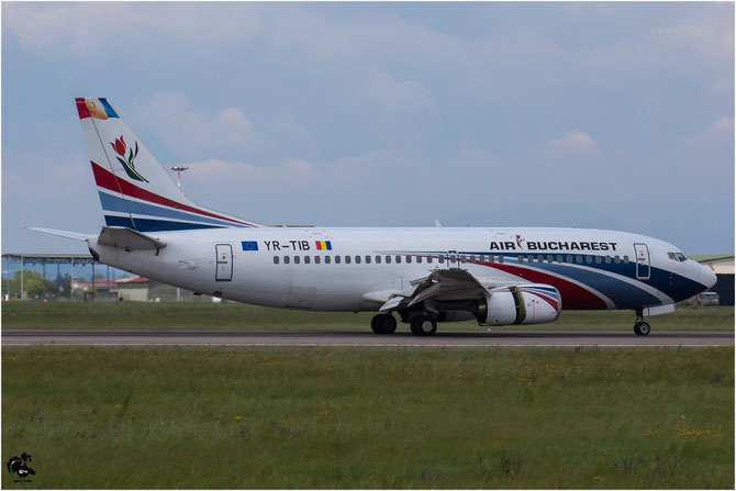 YR-TIB B737-3L9 27924/2760 Air Bucharest @ Aeroporto di Verona © Piti Spotter Club Verona