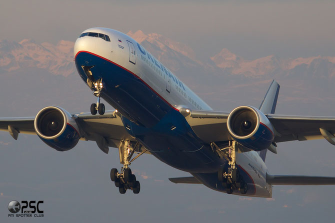 VP-BLA B777-2Q8ER 28676/246 Orenair - Orenburg Airlines @ Aeroporto di Verona © Piti Spotter Club Verona