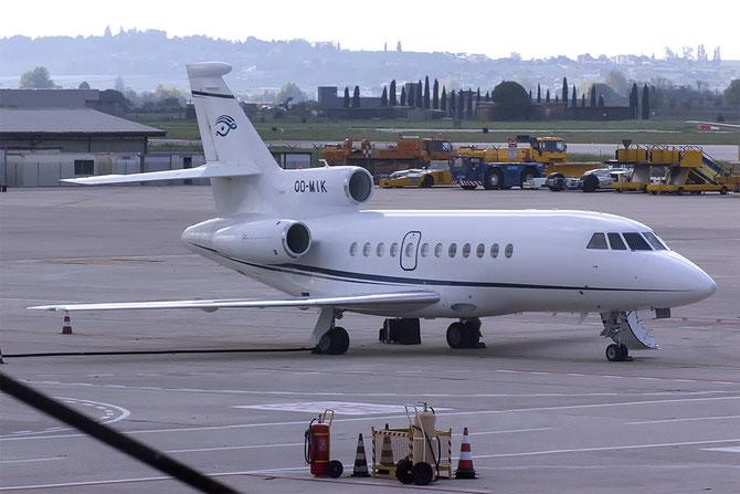 OD-MIK Falcon 900DX 610 Fly Executive @ Aeroporto di Verona © Piti Spotter Club Verona