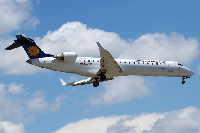 Canadair Regional Jet - MSN 10030 - D-ACPF  @ Aeroporto di Verona © Piti Spotter Club Verona
