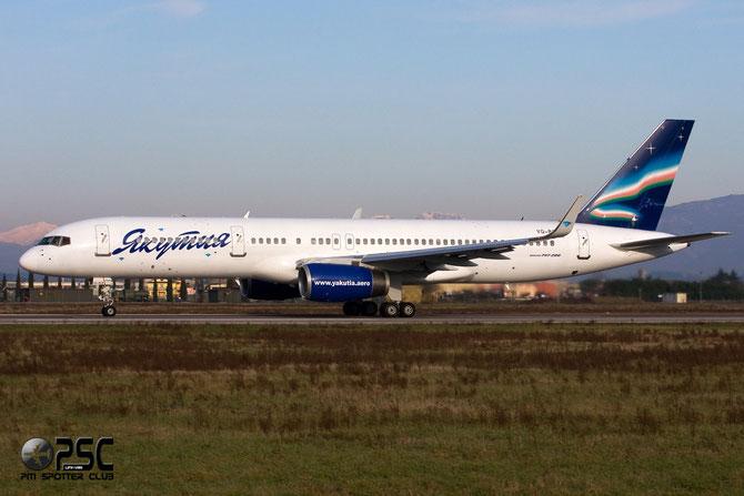 Boeing 757 - MSN 26245 - VQ-BCK @ Aeroporto di Verona © Piti Spotter Club Verona