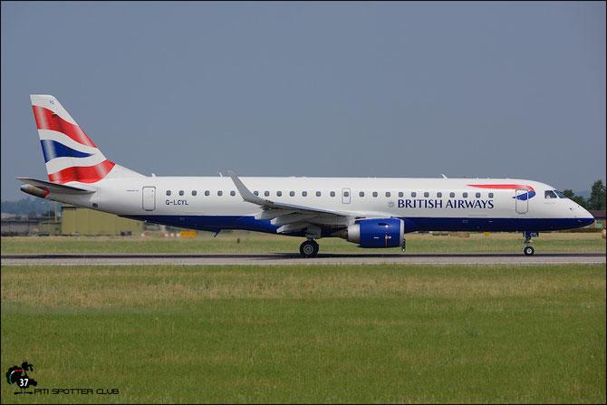 G-LCYL ERJ190SR 19000346 BA CityFlyer @ Aeroporto di Verona © Piti Spotter Club Verona