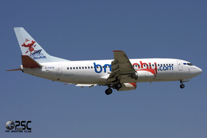 Boeing 737 - MSN 26307 - G-TOYD  @ Aeroporto di Verona © Piti Spotter Club Verona