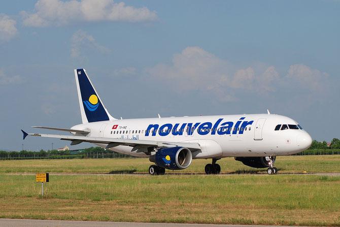 TS-INO A320-214 3480 Nouvelair Tunisie (new livery) @ Aeroporto di Verona © Piti Spotter Club Verona