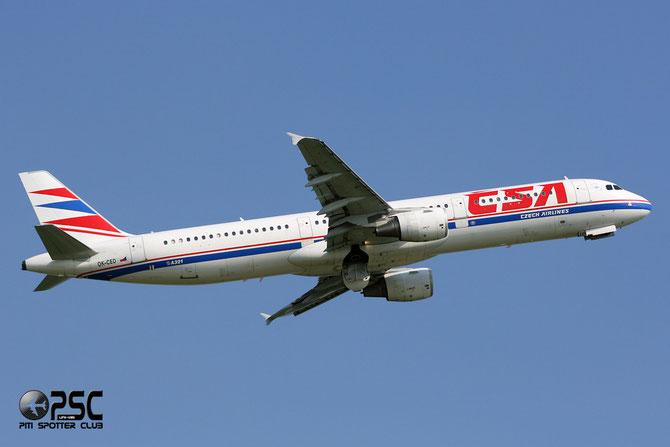OK-CED A321-211 684 CSA Czech Airlines